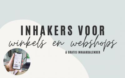 5x inhakers voor winkels en webshops (+ GRATIS download!)